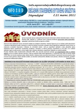 Schôdze vlastníkov v zmysle zákona 182/1993 Z.z. v znení