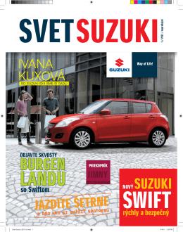 BURGEN - Suzuki Slovensko