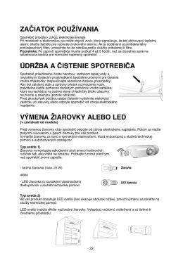 Návod pre Whirlpool ART 6611/A++