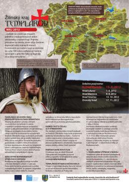Newsletter Žilinský kraj TEMPLÁROV Máj 2012