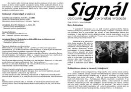 Signál2010-01