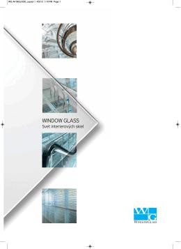 Interierové sklo ® (pdf)