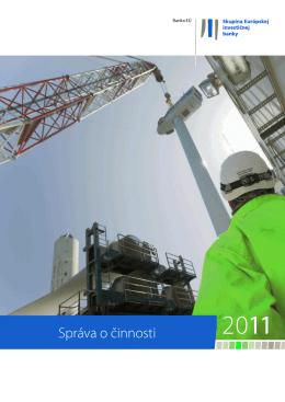 Výročná správa 2011 - Správa o činnosti