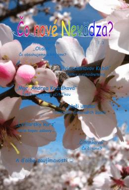 Školský časopis Nevädza, ročník 2013-2014, č. 3