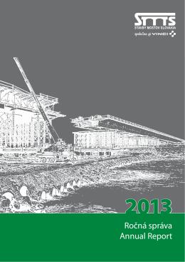 Výročná zpráva 2013 - Stavby Mostov Slovakia, as