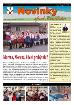 Obecné noviny 1/2011