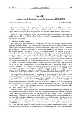 Finančný spravodajca 3/2013