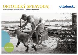 Ortotický spravodaj august 2012