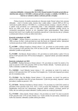 Zapisnica 18_11_2012_dodrziavanie zakona