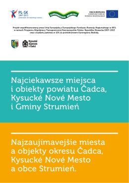 Najciekawsze miejsca i obiekty powiatu Čadca, Kysucké