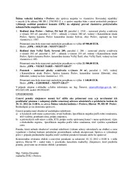 Štátna vedecká knižnica v Prešove ako správca majetku vo