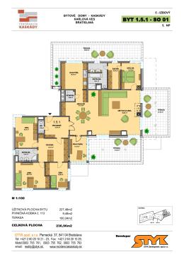 BYT 1.5.1 - SO 01 - Rezidencia Kaskády