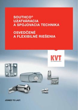 Southco® – Uzatváracia a spojovacia technika | KVT