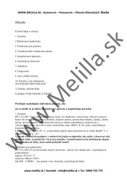 Obsah: - Melilla.sk