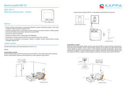Manuál k produktu vo formáte PDF