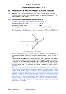 Pravidlá FAI F3F - Aeromodelling SK