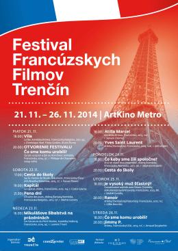 21. 11. – 26. 11. 2014 | ArtKino Metro
