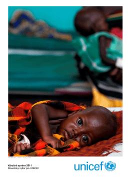 Výročná správa UNICEF Slovensko za rok 2011