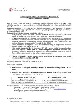 INFOLIST 28062010 - KLINICKÁ BIOCHÉMIA sro