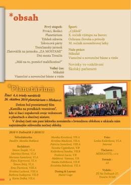 Dolináčik I. 2010/2011