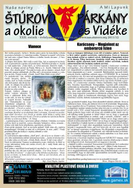 2011/12 - Mesto Štúrovo