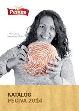 KATALÓG PEČIVA 2014 - PENAM SLOVAKIA, as