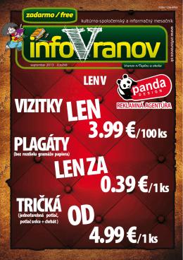 PROGRAM MsDK - InfoVranov.sk