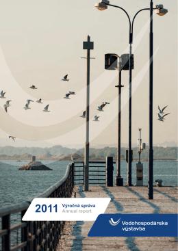 Výročná správa 2011 - Vodohospodárska výstavba, š.p.