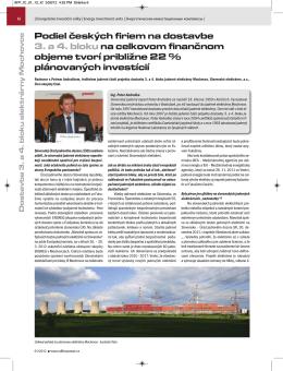 Dostavba 3. a 4. bloku elektrárny Mochovce