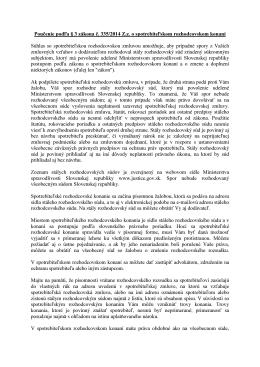 Poučenie podľa § 3 zákona č. 335/2014 Z.z. o