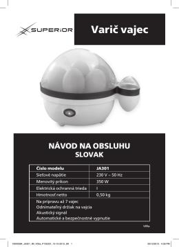 Varič vajec - Superior