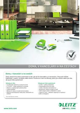 Kancelária – katalóg kancelárskych potrieb 2014/2015
