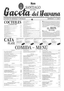 Havana 2013.indd - casa del havana