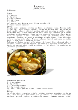Recepty - Gipsy Food Festival