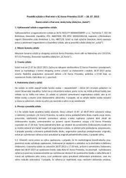 Pravidlá súťaže na stiahnutie (.pdf)