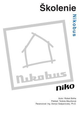 Manuál k hardvéru Nikobus (verzia 3.2.1)