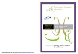Kniha receptov.pdf - Súkromná hotelová akadémia