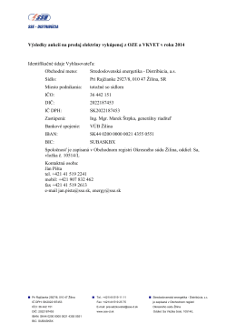 SSED_2014 _Vysledky_aukcii_31_7_2014 - SSE