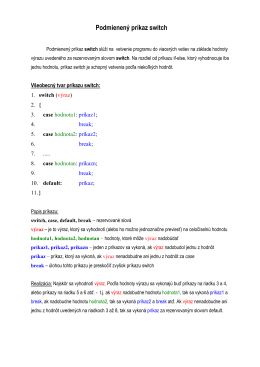 18.Príkaz switch.pdf