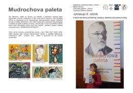 Mudrochova paleta - Základná umelecká škola Senica