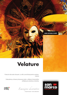 Velature - Colorificio San Marco