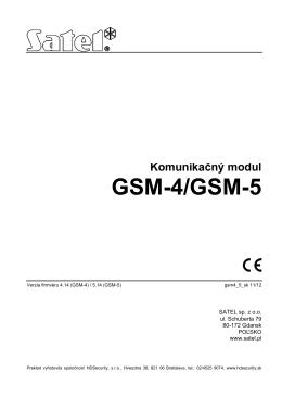 GSM-4/GSM-5
