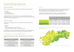 Investičná pomoc, SARIO r. 2013