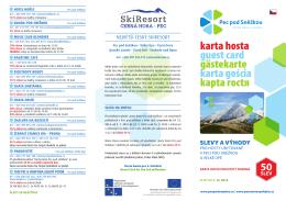 Karta hosta, slevy zima 2014/15