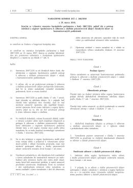 Nariadenie Komisie (EÚ) č. 268/2010 z 29. marca 2010