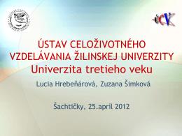 Dotaznik na UTV