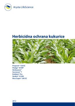 120109 Herbicidna ochrana kukurice.indd