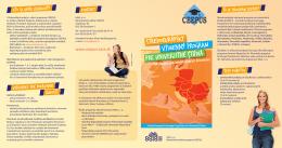 stredoeurópsky pre univerzitné štúdiá výmenný program