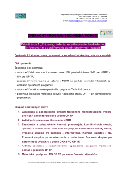 Operačný program Technická pomoc (OPTP)