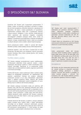 Stiahnite si profil spoločnosti S&T Slovakia v PDF formáte.
